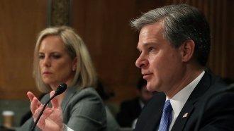 FBI Director Insists Brett Kavanaugh Investigation Was 'Standard'
