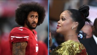 As A Nod To Kaepernick, Rihanna Reportedly Won't Perform At Super Bowl