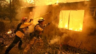 At Least 58 Dead As Series Of Wildfires Spread Across California