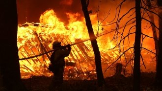 Fire Crews Making Progress On California Wildfires