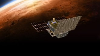 Tiny CubeSats Sent Word Of InSight's Landing All The Way From Mars