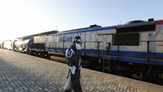 Train Makes First Trip Between Koreas In More Than A Decade