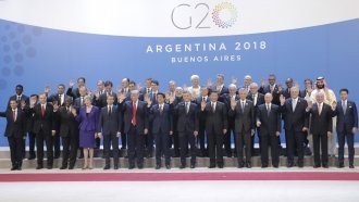 The US Stands Alone Among G-20 Nations When It Comes To Climate