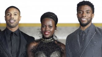 'Black Panther' Earns Marvel Studios Its First Golden Globe Nomination