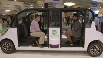 CES Asks: How Do You Get Someone To Want More Self-Driving Cars?