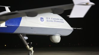 A Predator drone operated by U.S. Customs and Border Protections near the Mexican border on March 7, 2013