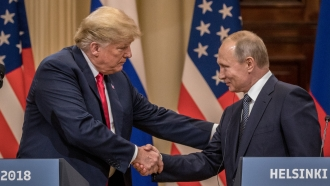 Report: Trump Took Steps To Hide Details Of Conversations With Putin