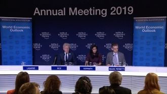 IMF panel at World Economic Outlook meeting