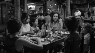 """A promotional image for Netflix's """"Roma"""""""