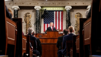 President Trump Calls For Bipartisanship In State Of The Union