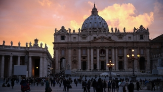 St. Peter's Square in Vatican City