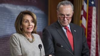 Rep. Nancy Pelosi and Sen. Chuck Schumer
