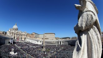A general view of St. Peter's Square.