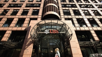 UK headquarters of UBS bank