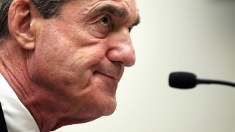 Then- FBI Director Robert Mueller testifies during a hearing before the House Judiciary Committee. He's now Special Counsel.