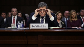 U.S. Attorney General William Barr