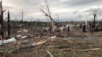 Tornadoes Kill At Least 23 In Eastern Alabama
