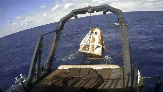 SpaceX Crew Dragon Capsule Successfully Returns To Earth