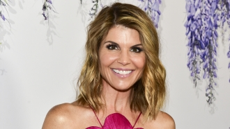 Lori Loughlin attends the 2018 a Hallmark Channel event