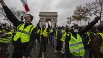 """""""Yellow Vest"""" protestors"""