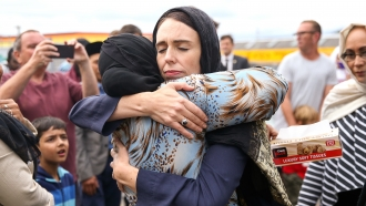 Prime Minister Jacinda Ardern meets with Muslim community leaders