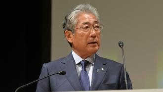 Japanese Olympic Committee President Tsunekazu Takeda