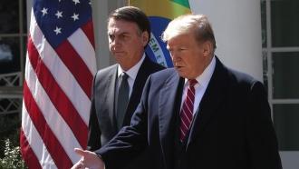 President Trump and Brazilian President Jair Bolsonaro
