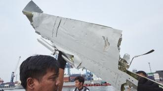 Part of crashed Lion Air plane