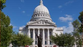 Wisconsin capitol building.