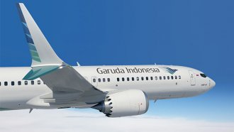 Garuda Indonesia airplane