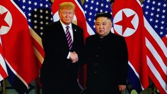 President Donald Trump and Kim Jong-un