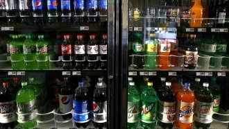 Drinks in store