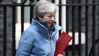 U.K. Prime Minister Theresa May