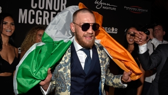 UFC lightweight champion Conor McGregor