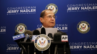 House Judiciary Committee Chairman Jerry Nadler holds a news conference on April 18, 2019