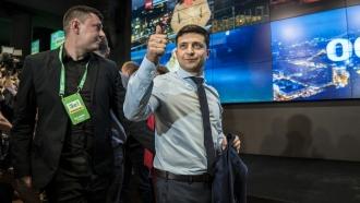 Ukraine President-elect Volodymyr Zelenskiy