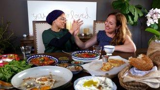 Mai Kakish and Abeer Najjar, two Arab women chefs who helped spearhead #AprilIsForArabFood