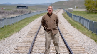 Kenny Wong, A Chinese Railroad Worker Descendant