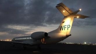 World Food Programme plane