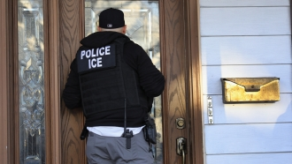 Immigration and Customs Enforcement officer