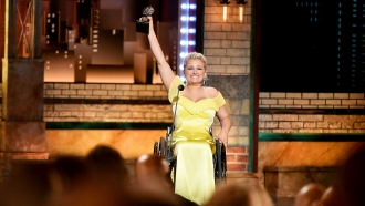 Ali Stroker wins a Tony Award