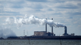 Coal power plant.