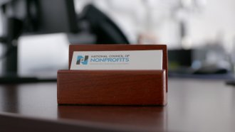 The National Council of Nonprofits is concerned about charitable giving.