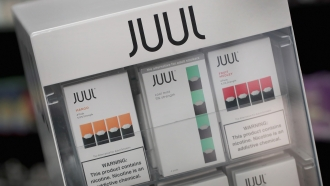 Juul pods on display