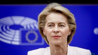 Ursula von der Leyen, the nominee to become the European Commission president.