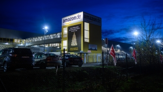 Amazon facility in Germany