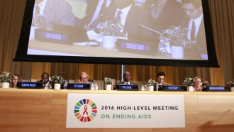 The 2016 high-level meeting on ending AIDS
