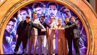 """""""Avengers: Endgame"""" cast at TCL Chinese Theatre IMAX on April 23, 2019 in Hollywood, California"""