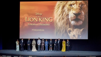 """The Lion King"" cast and crew"