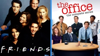 "Posters for ""Friends"" and ""The Office"""